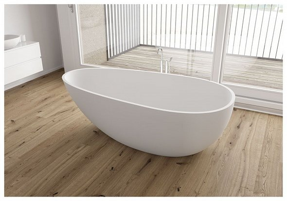 Ванна из искусственного камня Aquanet Miracle TC-S06 170x85, глянцевая